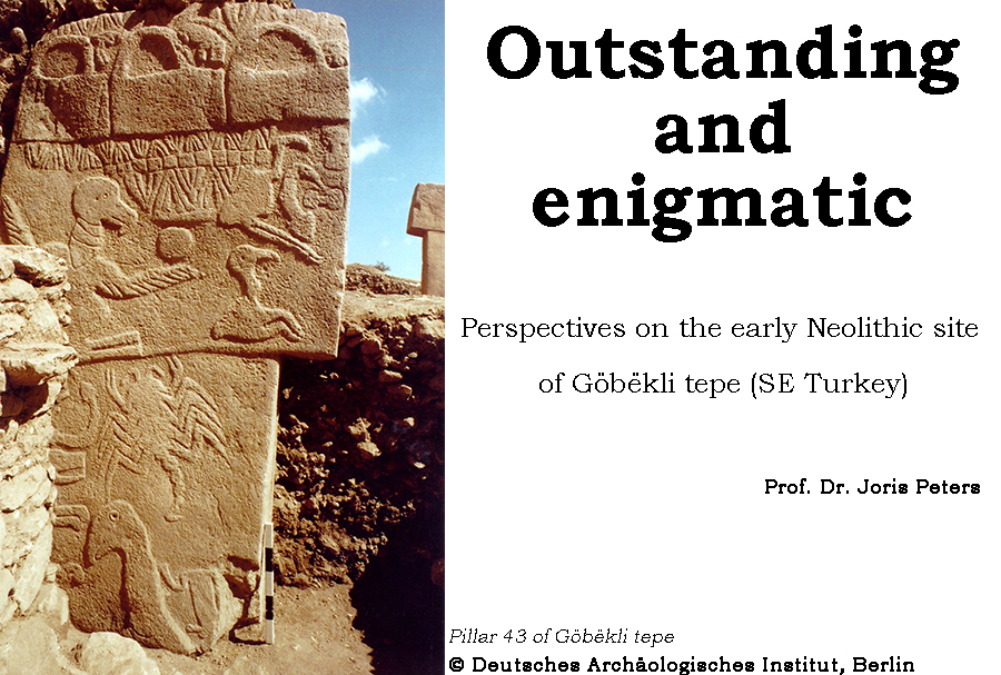 Invited Conference - Pillar 43 of Gobekli Tepe